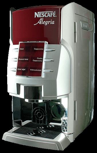 Nescafe Alegria A630 Instant típusú bérelhető kávégép képe