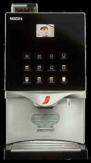 Nescafe Alegria FTP 30E típusú bérelhető kávégép képe