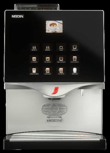 Nescafe Alegria FTP 60E típusú bérelhető kávégép képe